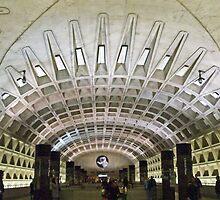 Metro Geometry by Tamara Valjean