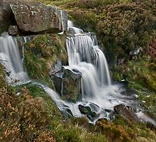 Bronte Waterfall, West Yorkshire by Steve  Liptrot