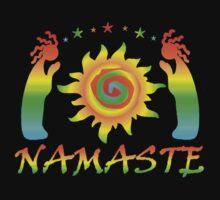 Namaste Tee by Jan Landers