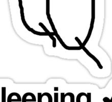 Spooning Sticker