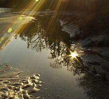 Sun over Coldwater Creek by Paul Doucette