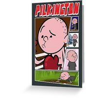 Karl Pilkington - Fan Montage Greeting Card