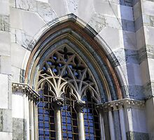 Monza Cathedral - detail of a window by sstarlightss