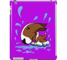Bull Terrier Splash  iPad Case/Skin