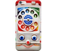 Toys Dial Phone iPhone Case/Skin