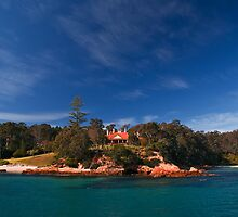 Edrom Lodge at Twofold Bay by Brian Rope