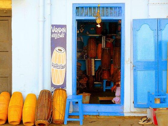 Musical Instruments Shop by Tamara Travers
