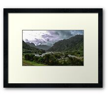 Into the Valley of the Ferns Framed Print