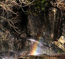 Car Park Rainbows by clickinhistory