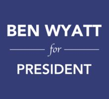 Ben Wyatt for President - Parks and Recreation by notisopse