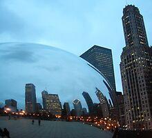 Cloud Gate in Chicago by AshleyMarie
