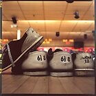 Bowling Shoes Askew by Jenni C