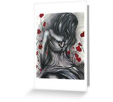 Empty Heart Greeting Card