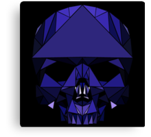Crystal Skull (including tessellations) Canvas Print