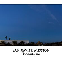 San Xavier Mission Panorama by Richard Valdez