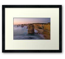 12 Apostles Sunset Framed Print