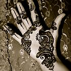 Henna Hand by Annie Wood