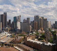 Sydney from the Bridge by Paul Gilbert