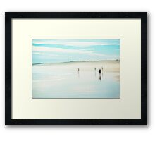 Things You Do At The Beach Framed Print