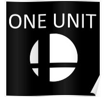 Smash Bros One Unit Poster