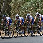 Riders in Tour Down Under 2009 by Jenny Brice