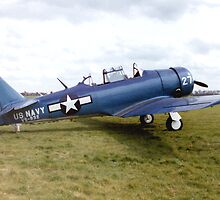 North American Harvard by Edward Denyer