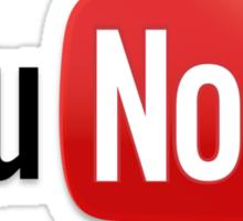 You Noob Sticker