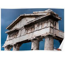 Stormy Rome in Greece Poster
