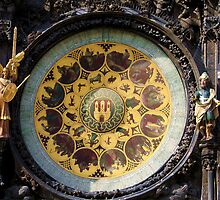 Under the Astronomical Clock by Gili Orr