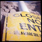 Closed No Entry by Jenni C