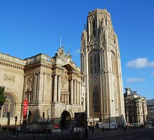 Bristol Museum & Wills Memorial building by funkybunch