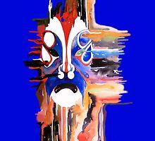 The Mask (blue) by theblackdavinci
