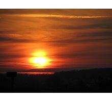 Sunwaves Photographic Print