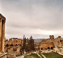 Baalbeck by Tony Elieh