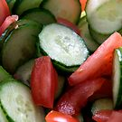 :::cucumbers & tomatoes::: by Isabelle Weerawardena