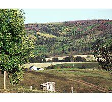 Rural Quebec Farm Photographic Print