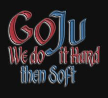 Goju Ryu, Karate, Hard, Soft Style, Combat by TOM HILL - Designer