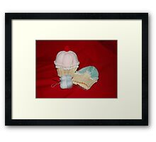 Cupcake Hats Framed Print