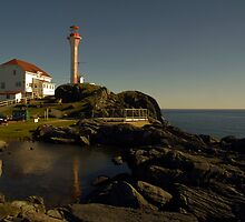 Cape Forchu Nova Scotia Canada by Roxane Bay
