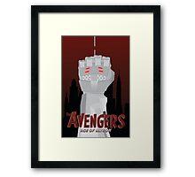 Avengers: Age of Ultron Simplistic Framed Print