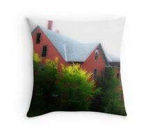 S Bent Bros:  Mill St. Gardner MA Orton Throw Pillow