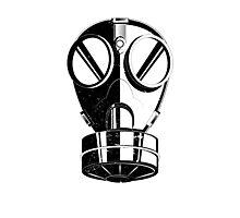 Gas Mask Photographic Print