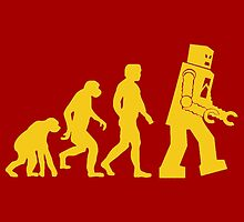 Robot Evolution by kerchow