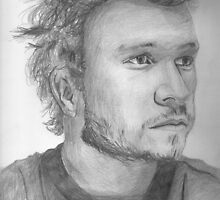 Heath Ledger by Stormswept