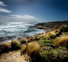 Blairgowrie Back Beach by Melinda Kerr