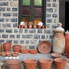 A small shop of Pot Maker by Sabee  Kazmi