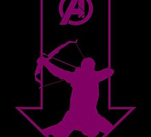 Just Hawkeye by ThePeacockMan