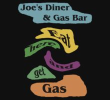 Joe's Diner T-shirt by MaeBelle