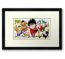 Dragon Ball  Framed Print