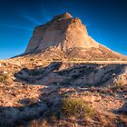 pawnee buttes grassland at sunset by Kevin Williams